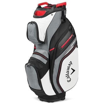 Picture of Callaway Org 14 Cart Bag - White/Charcoal (2020)