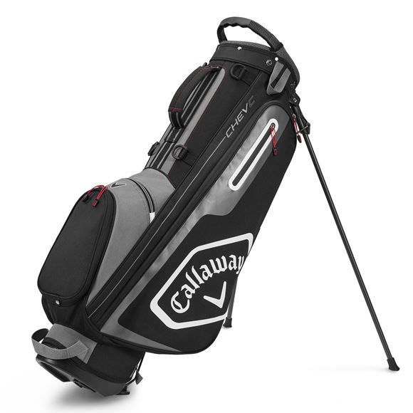 Picture of Callaway Chev C Stand Bag - Charcoal/Black (2020)