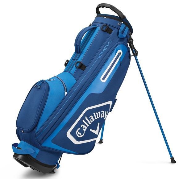 Picture of Callaway Chev C Stand Bag - Navy/Royal (2020)