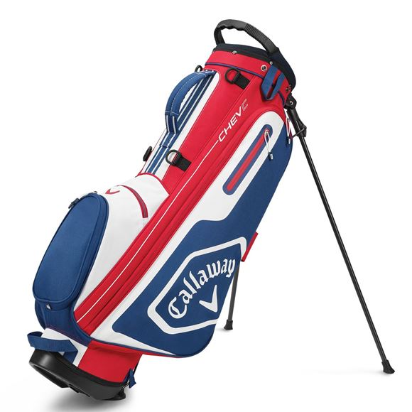 Picture of Callaway Chev C Stand Bag - Red/Navy (2020)