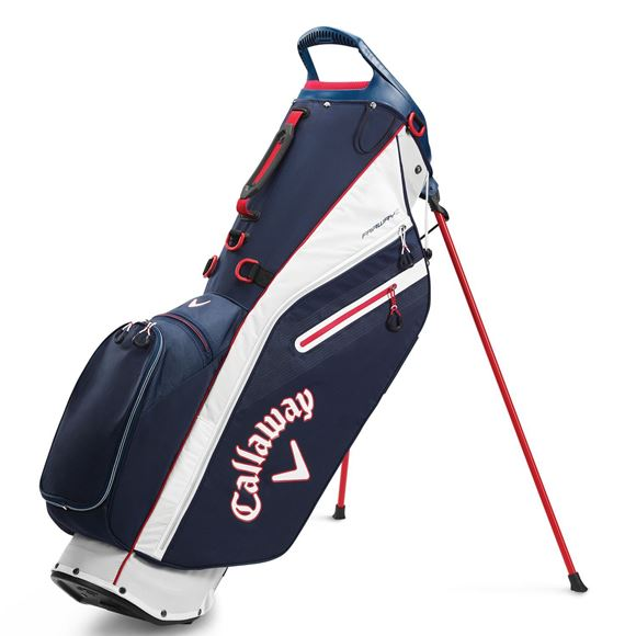 Picture of Callaway Fairway C Stand Bag - Navy/Red (2020)