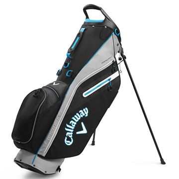 Picture of Callaway Fairway C Stand Bag - Silver/Black (2020)