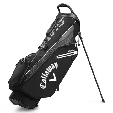Picture of Callaway Hyper Lite Zero Stand Bag - Black/White (2020)
