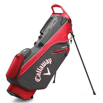 Picture of Callaway Hyper Lite Zero Stand Bag - Charcoal/Red (2020)