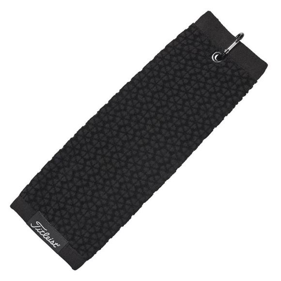 Picture of Titleist StaDry Tri Fold Towel - Black