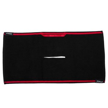 Picture of Titleist Players Micro Fibre Towel - Black