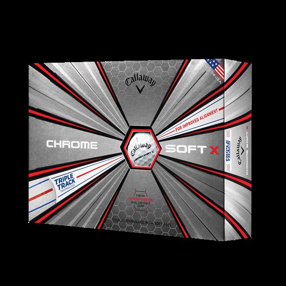 Picture of Callaway Chrome Soft X Golf Balls 2019 Model