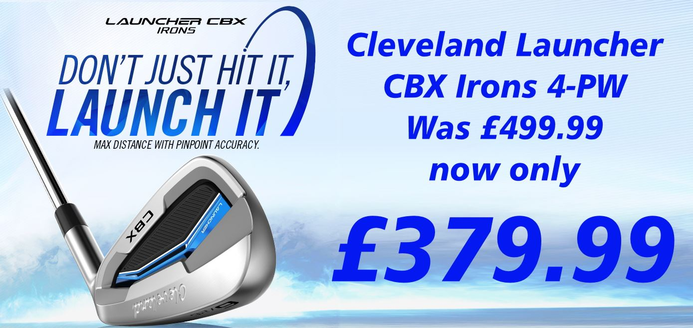 Cleveland CBX Irons only £379.99