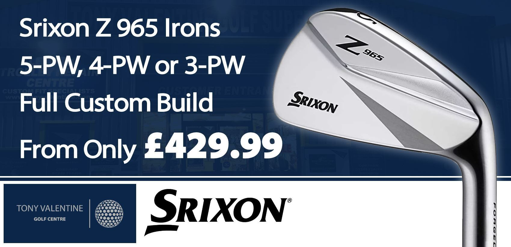 Srixon Z965 Irons - Special Offer!