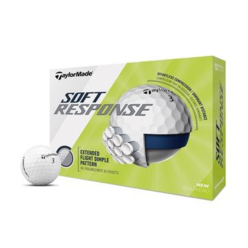 Picture of TaylorMade Soft Response Golf Balls (White)