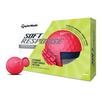 Picture of TaylorMade Soft Response Golf Balls (Red)