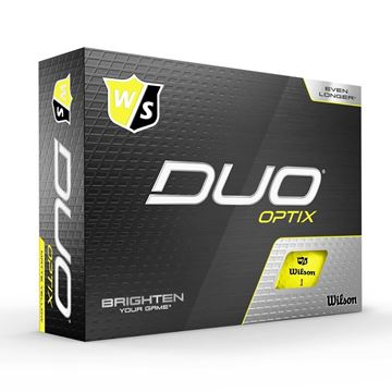 Picture of Wilson Staff DUO Optix Golf Balls - Yellow