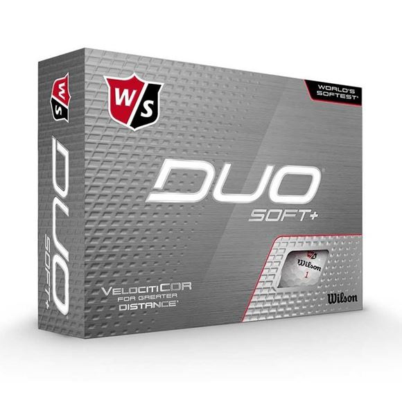 Picture of Wilson Staff DUO Soft+ Golf Balls - White