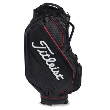 Picture of Titleist Premium StaDry Waterproof Cart Bag - Black/White/Red