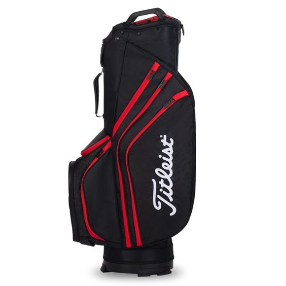 Picture of Titleist Lightweight 14 Cart Bag 2020 - TB20CT6-006 Black/Red