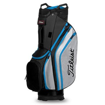 Picture of Titleist Lightweight 14 Cart Bag 2020 - Black/Grey/Blue