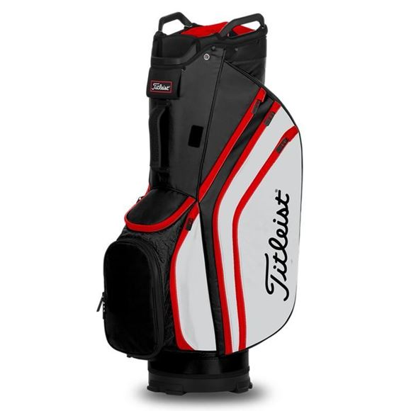 Picture of Titleist Lightweight 14 Cart Bag 2020 - TB20CT6-016 Black/White/Red
