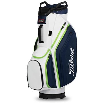 Picture of Titleist Lightweight 14 Cart Bag 2020 - White/Navy/Apple