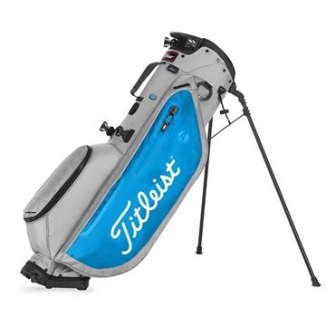Picture of Titleist Players 4 Stand Bag 2020 - Grey/Blue