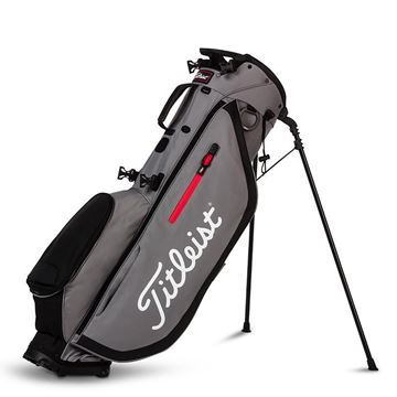 Picture of Titleist Players 4 Stand Bag 2020 - Graphite/Red