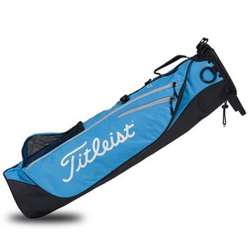 Picture of Titleist Premium Carry Bag 2020 - Black/Blue/Silver