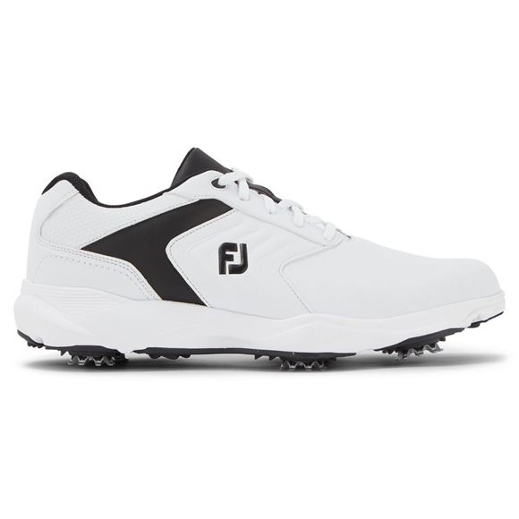 Picture of Footjoy Mens eComfort Golf Shoes - White/Black - 57712