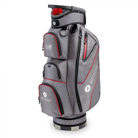 Picture of Motocaddy Club Series Cart Bag 2020 - Charcoal/Red