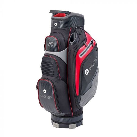 Picture of Motocaddy Pro Series Cart Bag 2020 - Black/Red