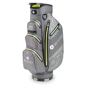 Picture of Motocaddy  Dry Series Cart Bag 2020 - Charcoal/Lime