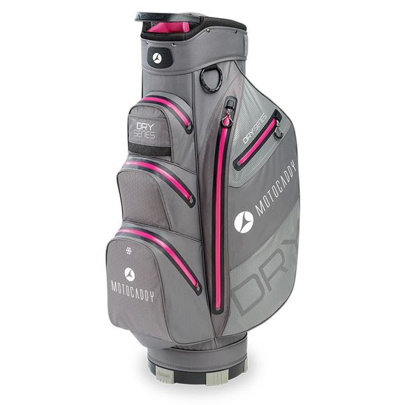 Picture of Motocaddy  Dry Series Cart Bag 2020 - Charcoal/Pink