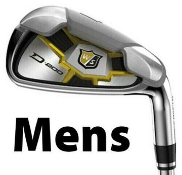 Picture of Wilson Staff D-200 Irons - Steel