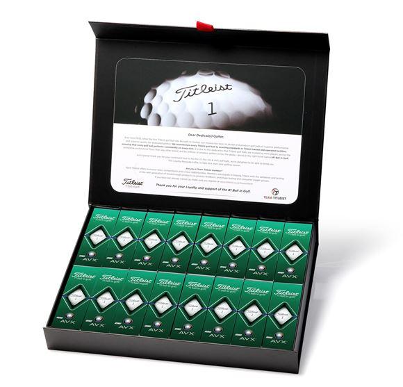 Picture of Titleist AVX 2020 Model Golf Balls - 4 Dozen