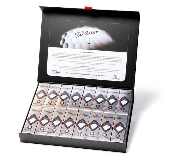 Picture of Titleist Pro V1x 2019 Model Golf Balls - 4 Dozen