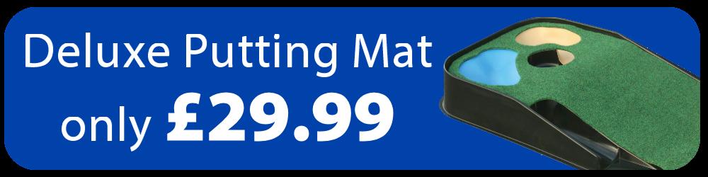 Masters Deluxe Hazard Putting Mat