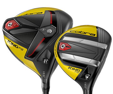 Picture of Cobra King F9 Speedback Driver and 3 Wood Bundle (2 Clubs) Yellow