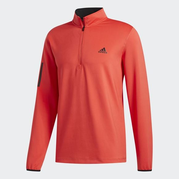Picture of Adidas Mens Midweight Layering Sweatshirt - Red