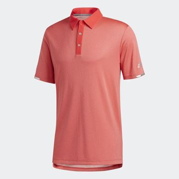 Picture of Adidas Mens HEAT.RDY Base Polo Shirt - Red