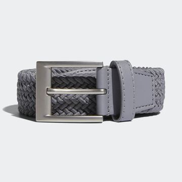 Picture of Adidas Mens Braided Stretch Belt - Grey