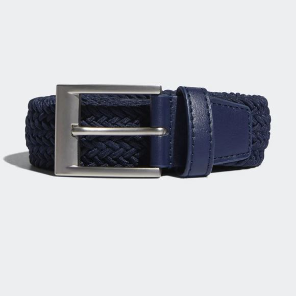 Picture of adidas Mens Braided Stretch Belt - Navy