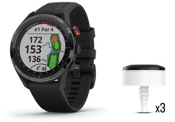 Picture of Garmin S62 Approach GPS Watch CT 10 Bundle - Black