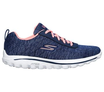 Picture of Skechers Ladies Go Walk Golf Shoes - Navy/Pink