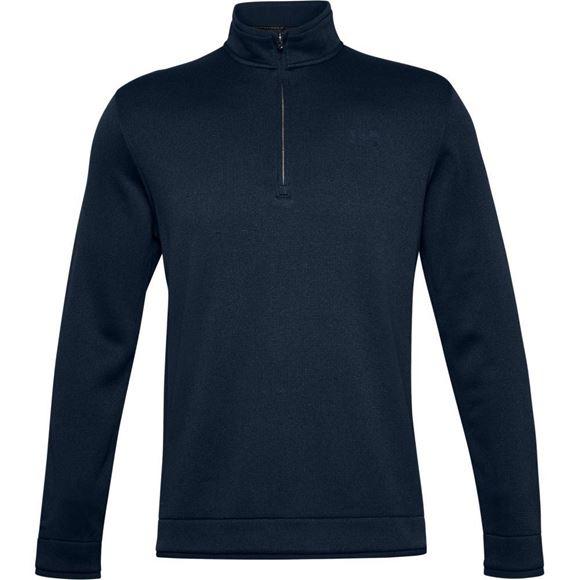 Picture of Under Armour Mens Storm Sweater Fleece 1/4 Zip Pullover 1359971-408
