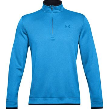 Picture of Under Armour Mens Storm Sweater Fleece 1/4 Zip Pullover 1359971-428