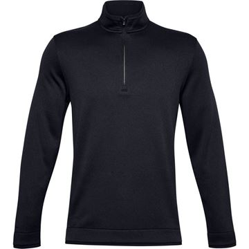 Picture of Under Armour Mens Storm Sweater Fleece 1/4 Zip Pullover 1359971-001