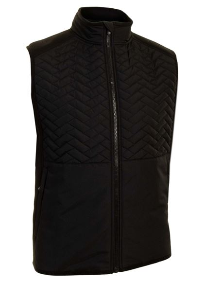 Picture of ProQuip Mens Therma Gust Gillet - Black