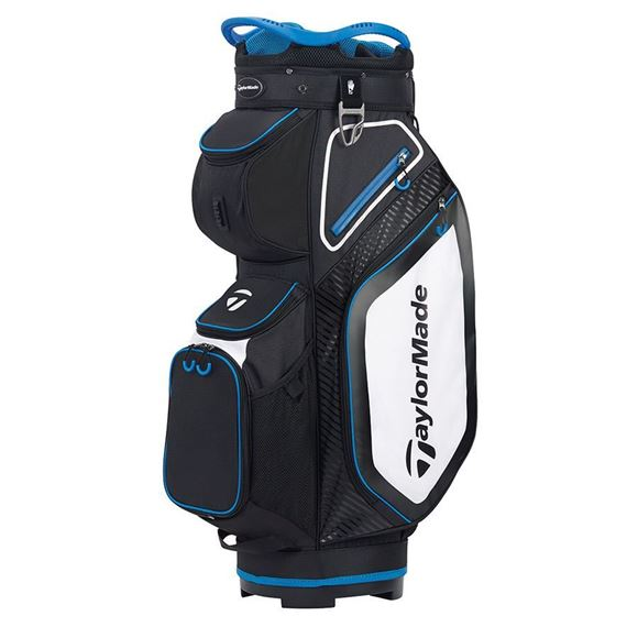 Picture of TaylorMade Pro Cart 8.0 Trolley Bag - Black/White/Blue