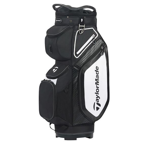 Picture of TaylorMade Pro Cart 8.0 Trolley Bag - Black/White/Charcoal