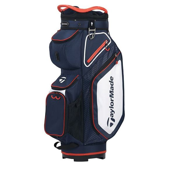Picture of TaylorMade Pro Cart 8.0 Trolley Bag - Navy/White/Red