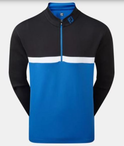 Picture of Footjoy 1/4 Zip Colour Blocked Chill-Out Pullover - 90380