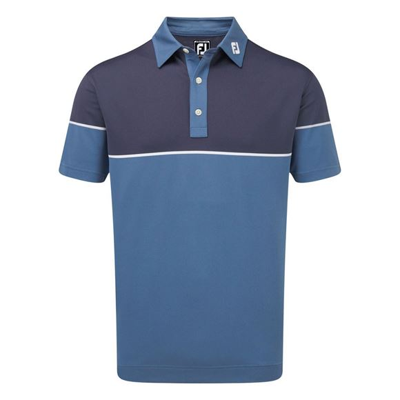 Picture of Footjoy Colour Block Stretch Pique Polo Shirt - 90096